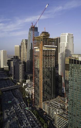 metropolis greenlandusa dtla highriseconstruction downtownlosangeles southpark constructionwatch2017