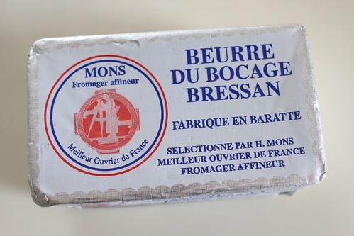 エルヴェ・モンスのバターを使ったマドレーヌ