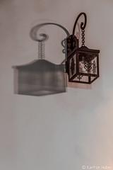 Laguna Beach - Exterior Lamp and Shadow