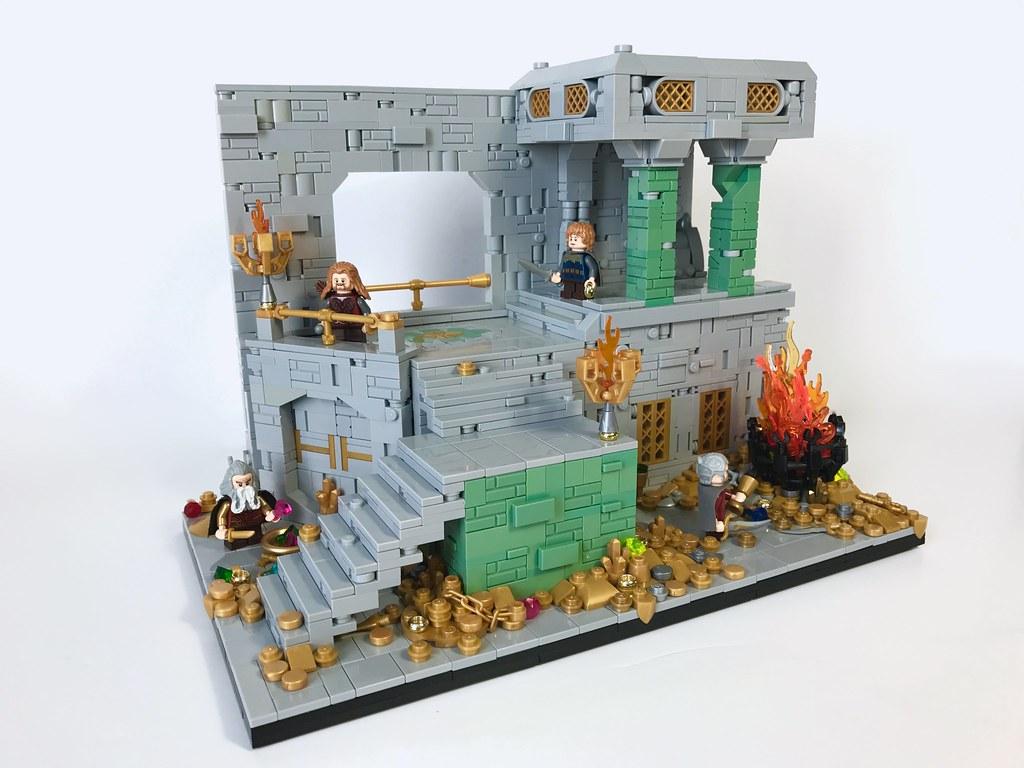Erebor (custom built Lego model)