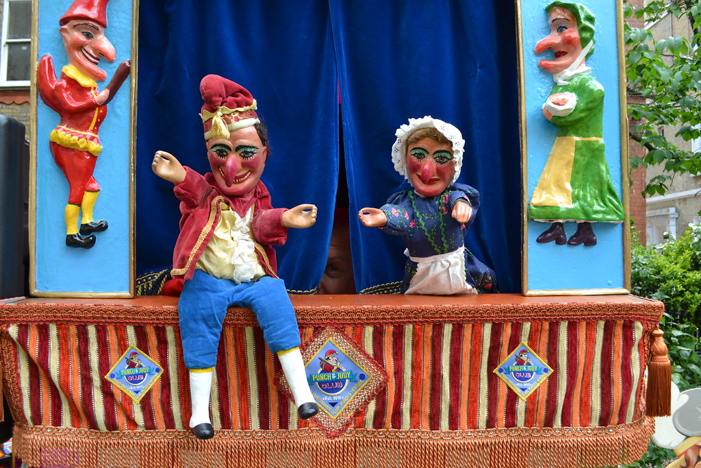 Image result for Punch and Judy show at Covent Garden