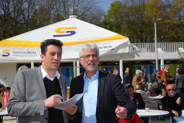 Wiedereröffnung Freibad Wilhelmshöhe - 31.4.2017