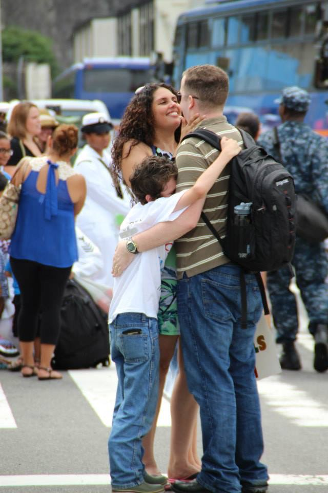 returning from last deployment 2014