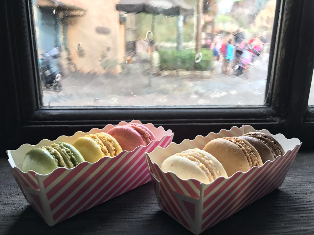 Gaston Tavern Trio of Macarons, The Magic Kingdom