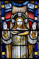 Risen Christ (Frederick Drake, 1897)