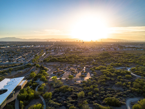 las vegas nevada photography drone mavic pro wetlands henderson sunset sky landscape skyline