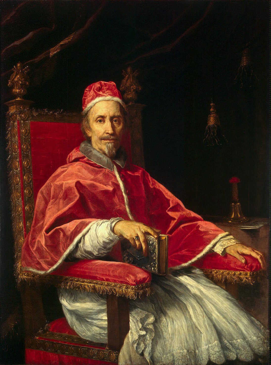 Pope Clement IX by Carlo Maratta, 1669
