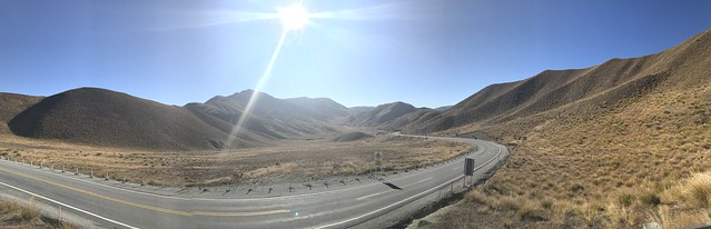 Lindis Pass in Central Otago