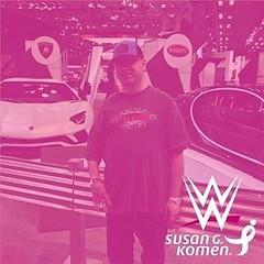 #RiseAboveCancer #SusangKoman #WWE  @WWE @JohnCena @SusanGKomen #SusangKomanWeek #MoreThanPink @MLB #MLB @nycking718212