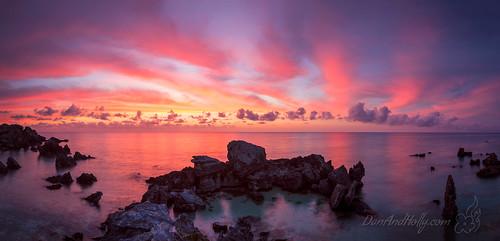 danandhollythompson danandhollycom sunset travel bermuda pink blue orange red ngc