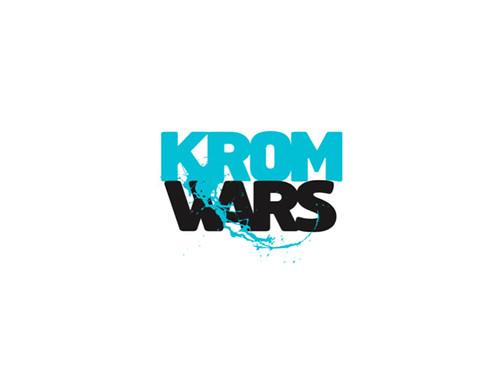 KROM WARS logo