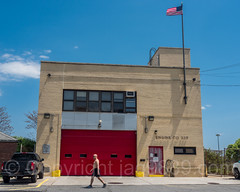 FDNY Firehouse Engine 329, Fort Tilden, Queens, New York City