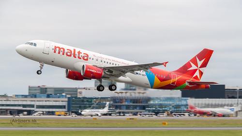 9H-AEP Air Malta Airbus A320-214