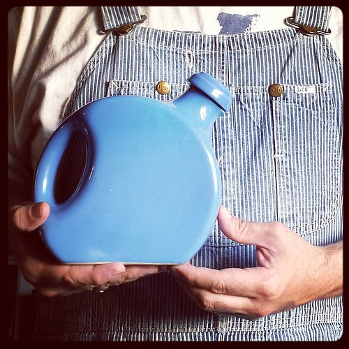 Adventures in Antiquing 8: Ceramic pitcher. My grandmother had one exactly like this. And now I do too! #antiquing #ceramicpitcher