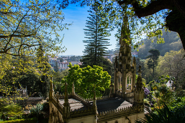 The gardens of the Quinta da Regaleira