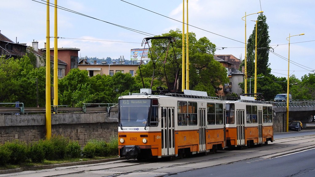 BKV 4062 4066 Csatolt TatraT5C5K