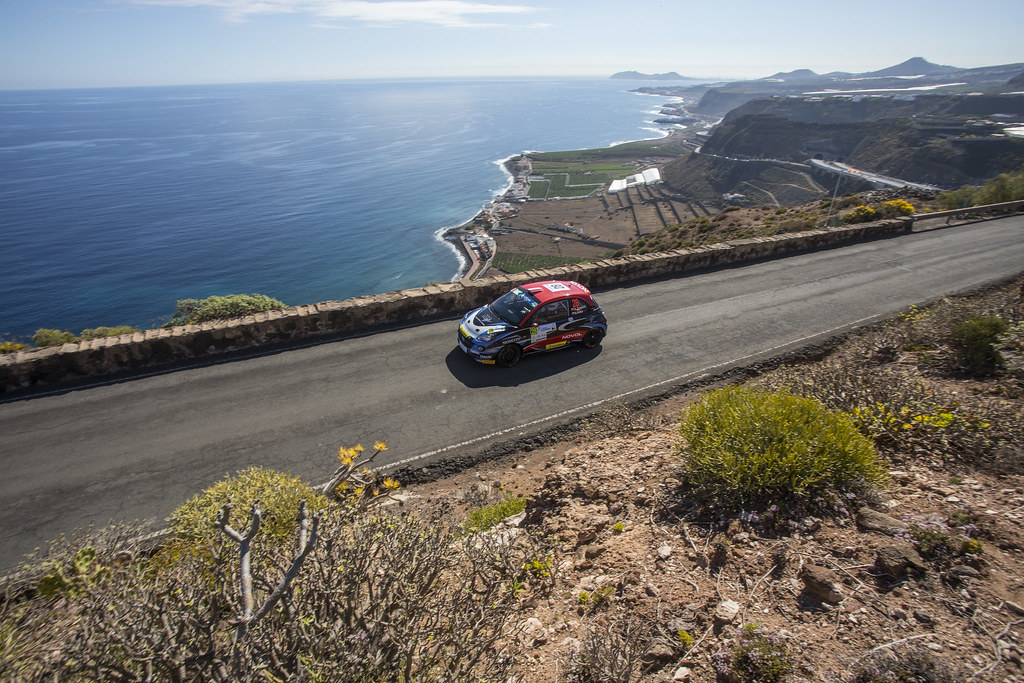 28 ZAWADA Alexander (POL), DACHOWSKI Grzegorz (POL), Opel Adam R2, Action during the 2017 European Rally Championship ERC Rally Islas Canarias, El Corte Inglés,  from May 4 to 6, at Las Palmas, Spain - Photo Gregory Lenormand / DPPI