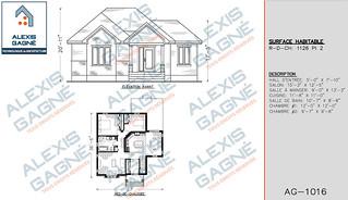 Plan de maison 1 étage - MM1e.08
