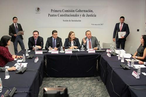Primera Comisión de la Permanente 9/may/17