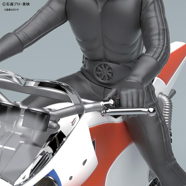 MECHA COLLECTION「假面騎士系列」新颶風號!仮面ライダーシリーズ 新サイクロン号 プラモデル