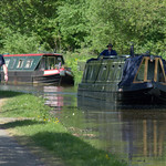 Boats on the canal at Preston