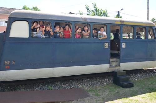 Automotora saiu à linha férrea no Dia Internacional dos Museus (1)