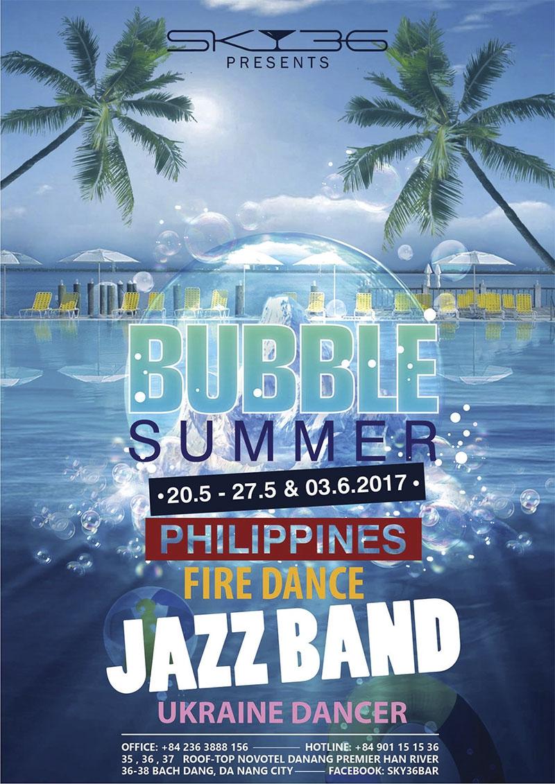 Sky36 - Bubble Summer 20.05 - 27.05 & 03.06.2017