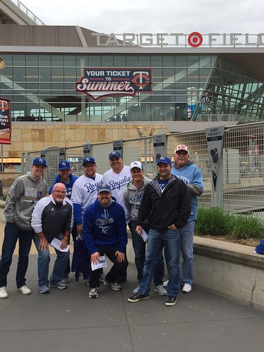Bachelor Party at the Twins vs. Royals Game