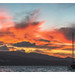 Zante Sunset -  Alykanas Beach (Cross Process & Border) (Olympus OMD EM5II & mZuiko 12-40mm F2.8 Pro Zoom)