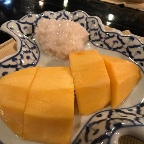 美味しかった! #カオニャオマムアン