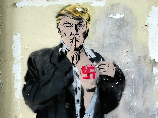 Donald Trump, Loretto street art