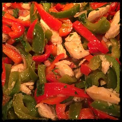 #chicken with #peppers #Homemade #CucinaDelloZio -
