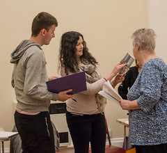 Suffragettes project - rehearsal, 29 April - 09