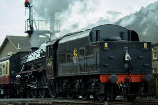 20170330-44_Black Five Engine 5MT 45407 leaving Levisham Station