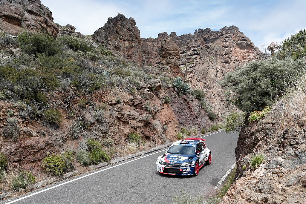 07 CERNY Jan (CZE),  CERNOHORSKY Petr (CZE), Skoda Fabia R5 Action during the 2017 European Rally Championship ERC Rally Islas Canarias, El Corte Inglés,  from May 4 to 6, at Las Palmas, Spain - Photo Alexandre Guillaumot / DPPI
