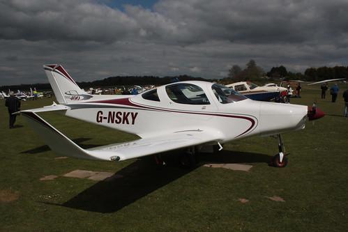 G-NSKY Alpi Pioneer 400 Popham 290417
