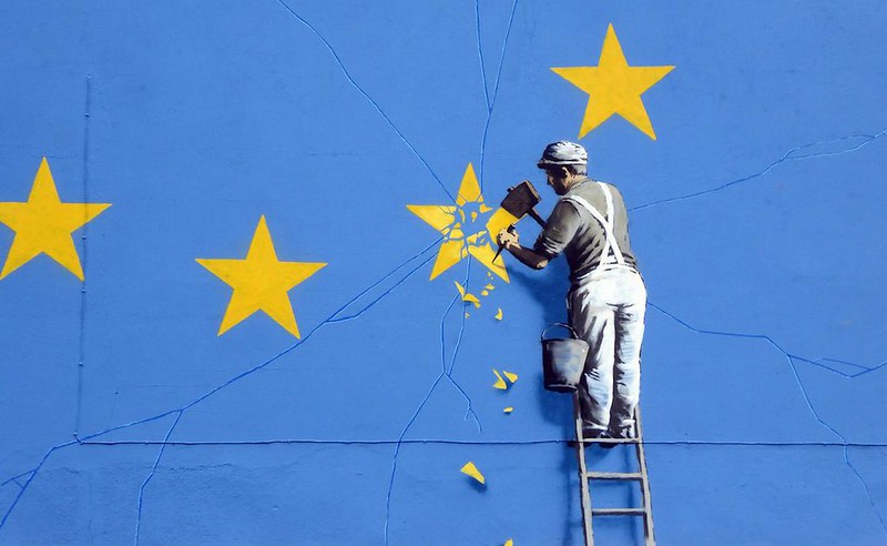Banksy does Brexit - Photo credit: dullhunk via Foter.com / CC BY