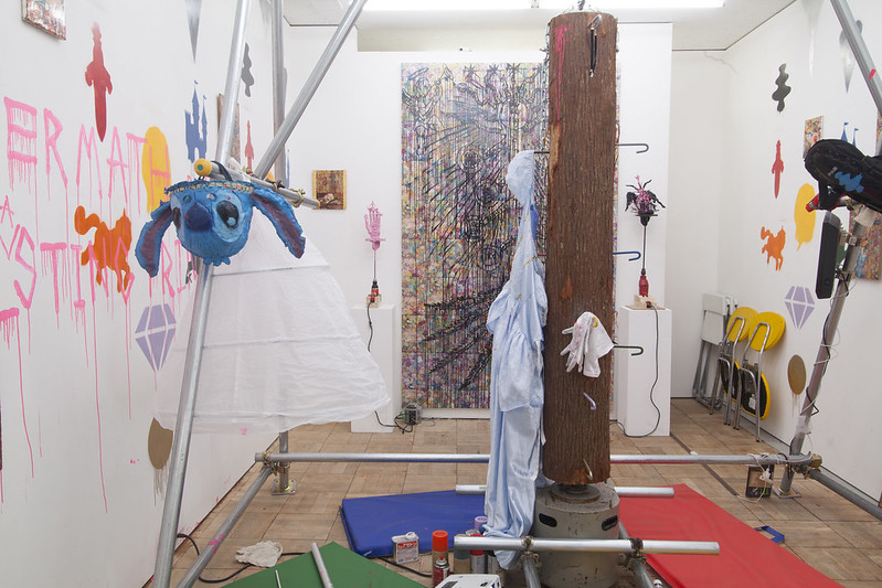 Aftermath of Evil Deeds, and Everlasting Princess Mind, Installation View