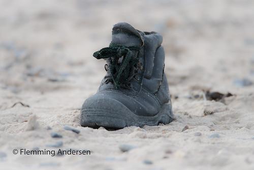forgot it shoe sand forgotit hurupthy northdenmarkregion denmark dk beach