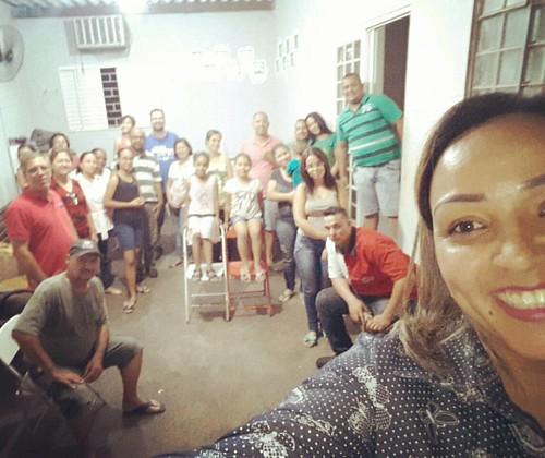 Célula Leão de Judá, 25 pessoas presentes, glória a Deus!
