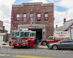 FDNY Firehouse Engine 97, Eastchester, Bronx, New York City