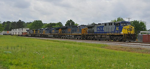 CSX Northbound Intermodal Hanceville