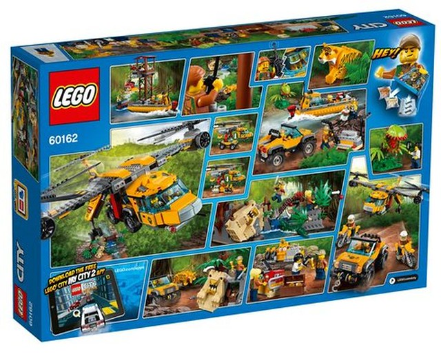 60162 Jungle Air Drop Helicopter 2