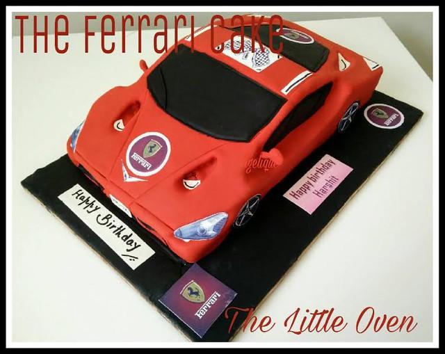 The Ferrari Cake by Dr. Angelique Vikram Goel of The Little Oven