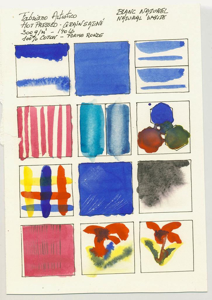 Watercolour Paper Fabriano Artistico Cold Pressed 240g