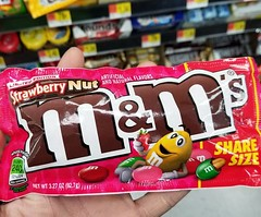 Hey sis @chopstickchick, have you seen these? They're not quite the #PBJ you love, but they may be worth a taste. 😉 #MAndMs