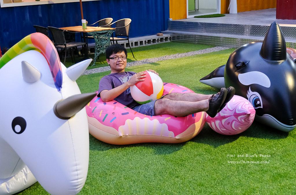 逢甲迷路MiLu菜單氣球泳圈親子餐廳09