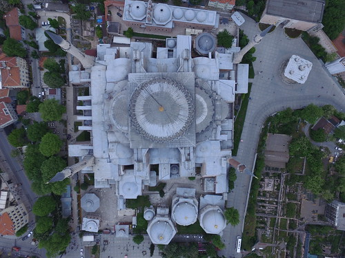 AyaSofya Top view from the air
