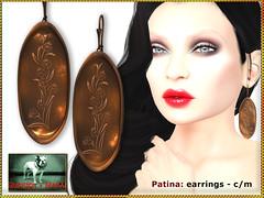 Bliensen - Patina - earrings