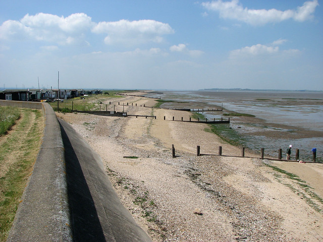The Saxon Shore way on Graveney Marshes